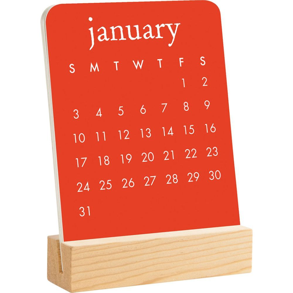 2021 Colorscope Personality Easel Calendar