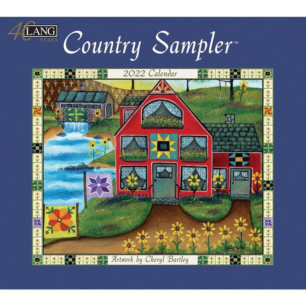 Country Sampler 2022 Wall Calendar