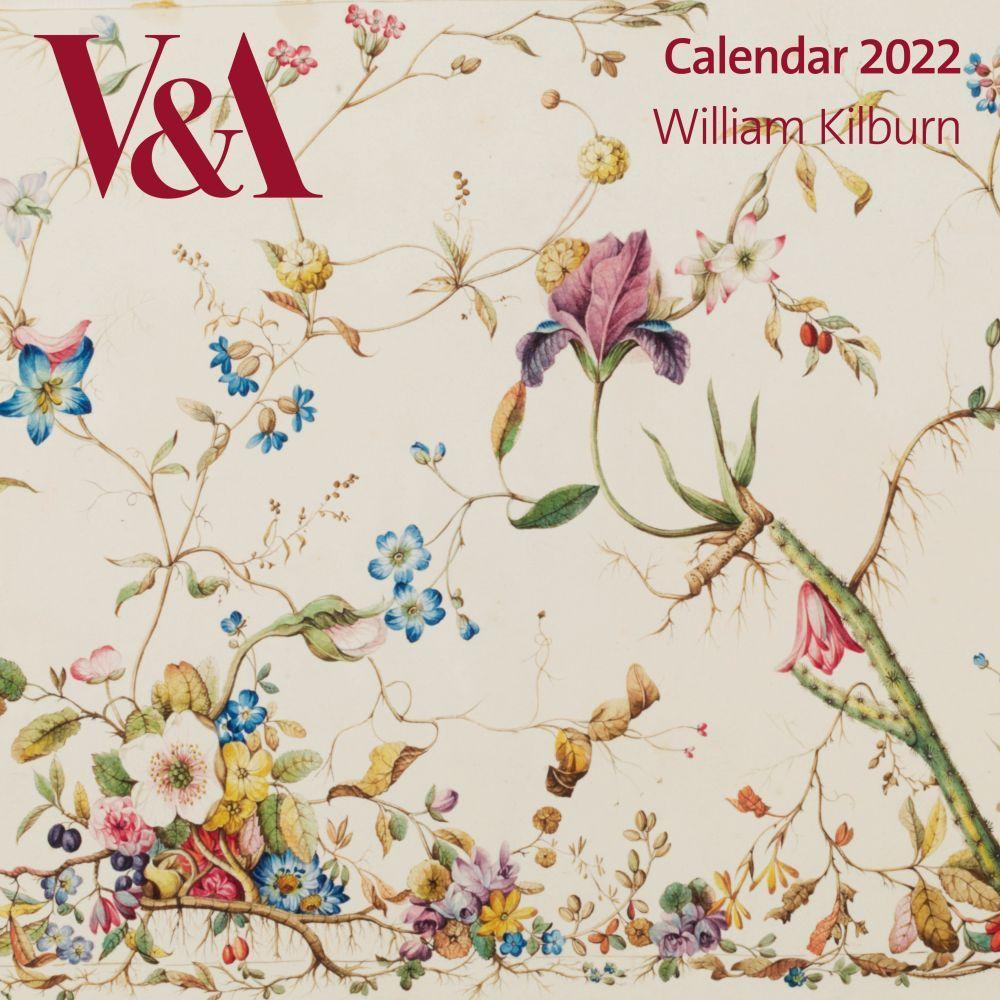 V & A William Kilburn 2022 Wall Calendar