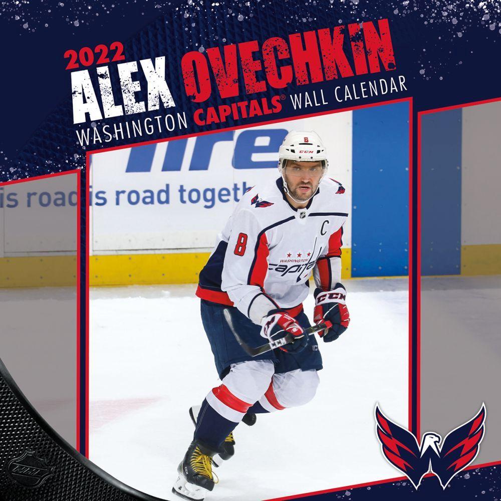 NHL Alex Ovechkin 2022 Wall Calendar