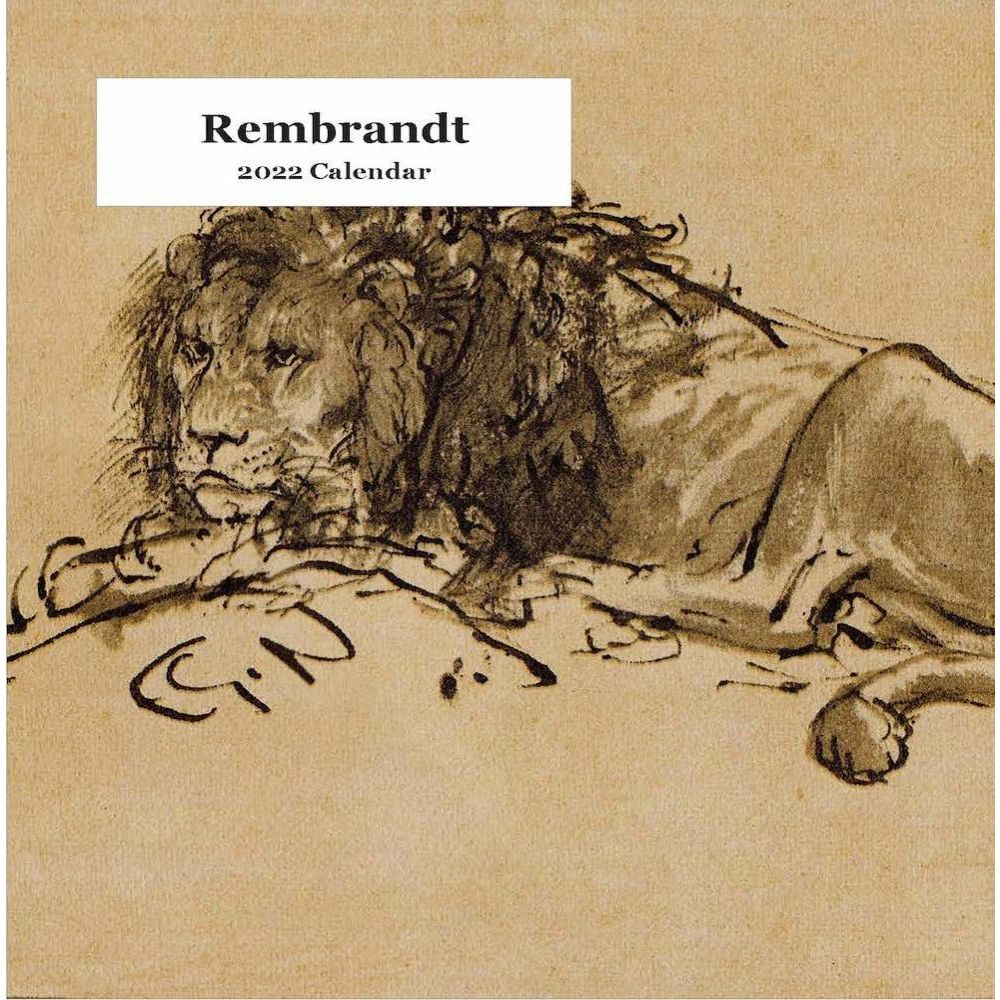 Rembrandt 2022 Easel Calendar
