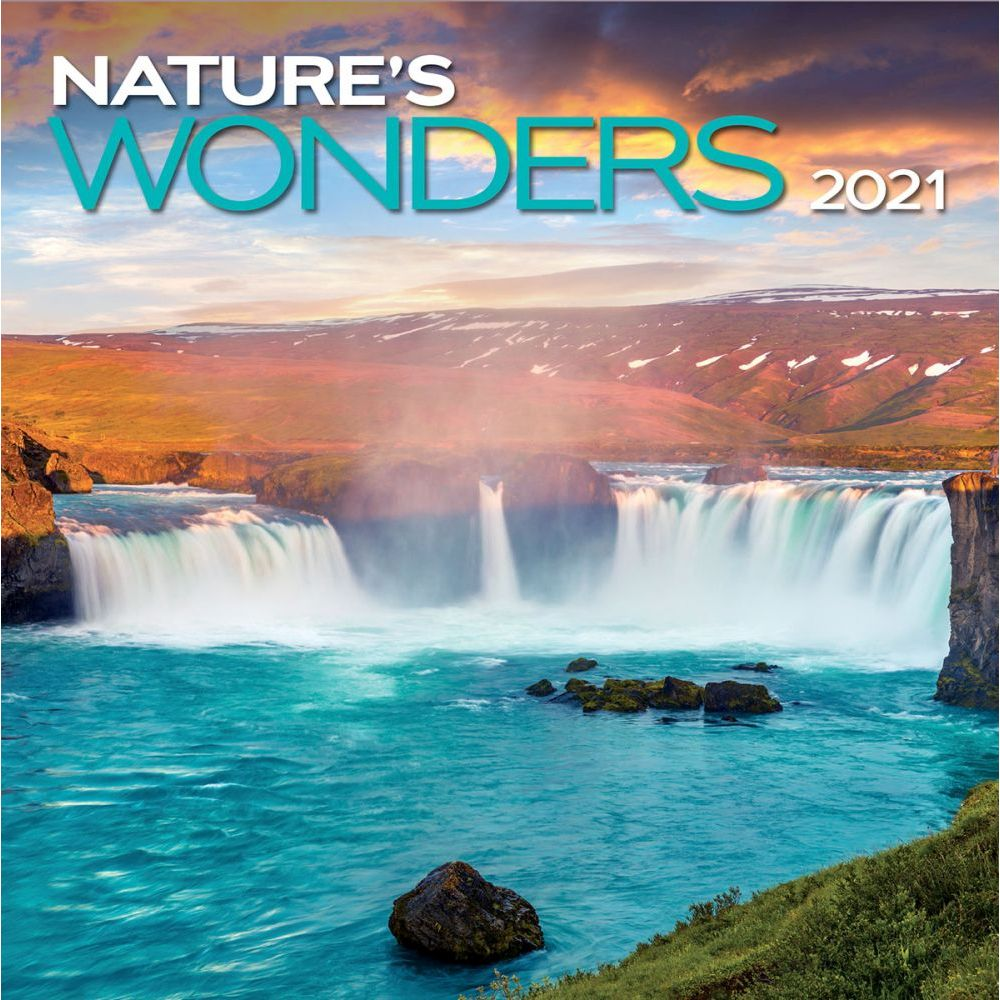 2021 Nature's Wonders Wall Calendar