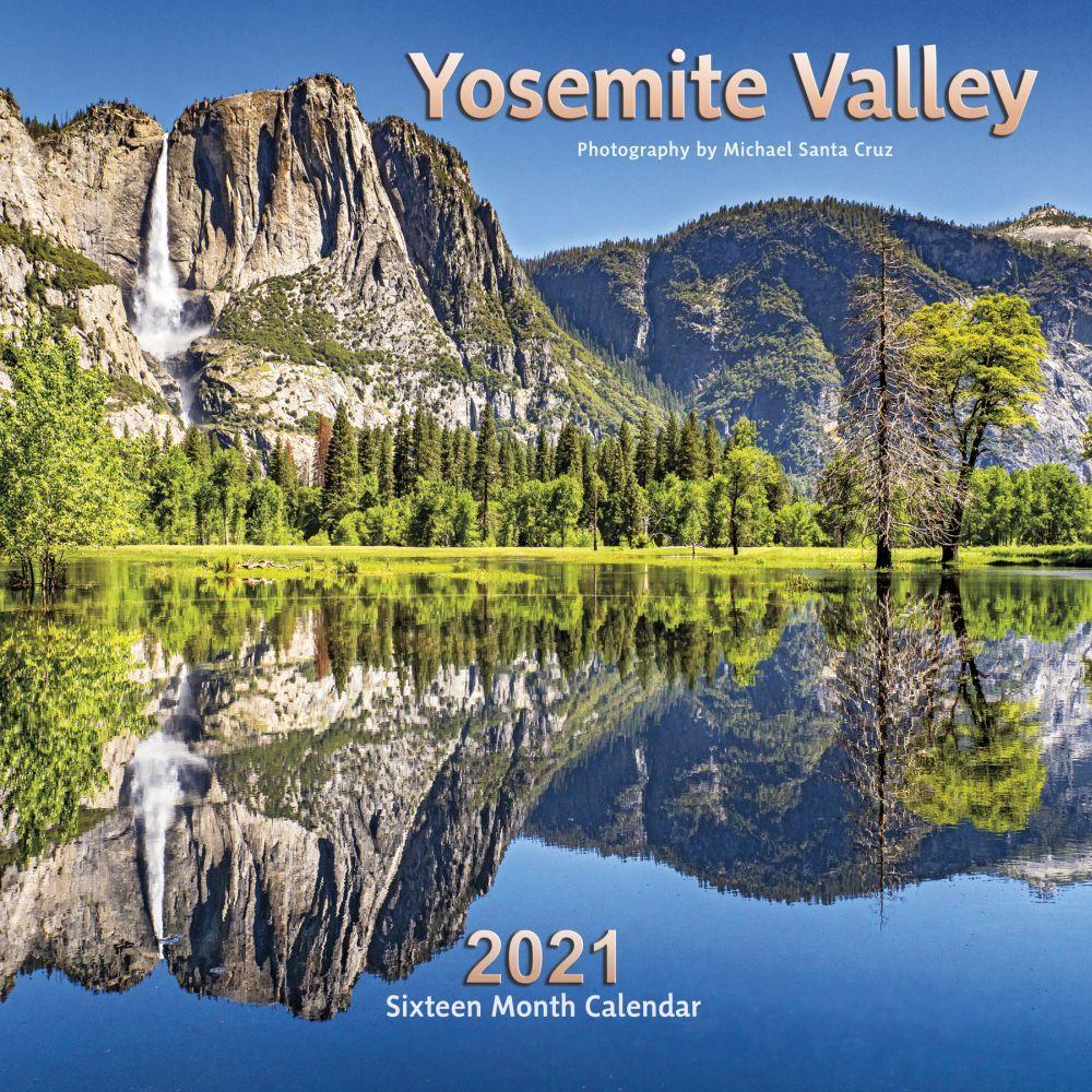 2021 Yosemite Valley Wall Calendar