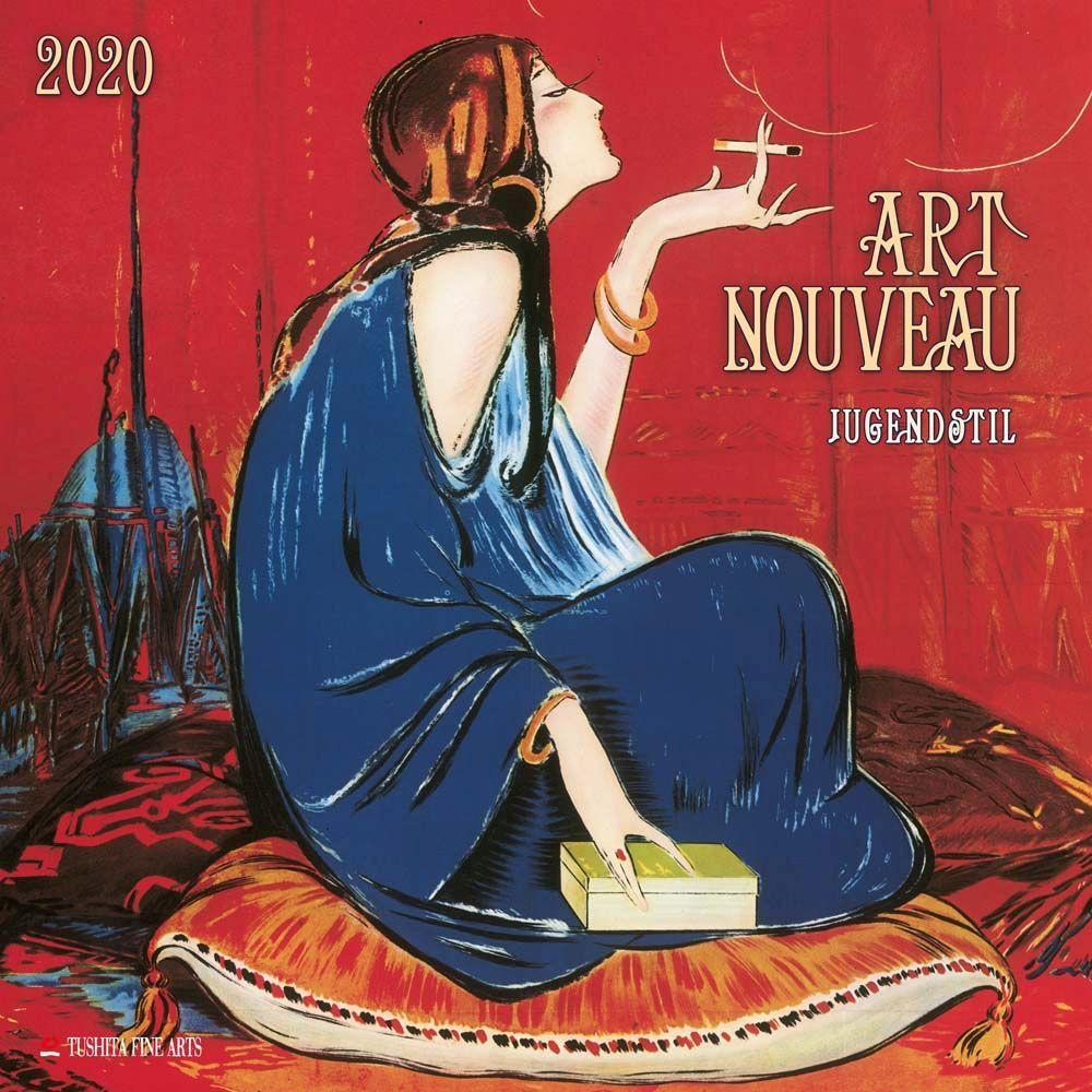 Anton Seder Art Nouveau 2021 Wall Calendar