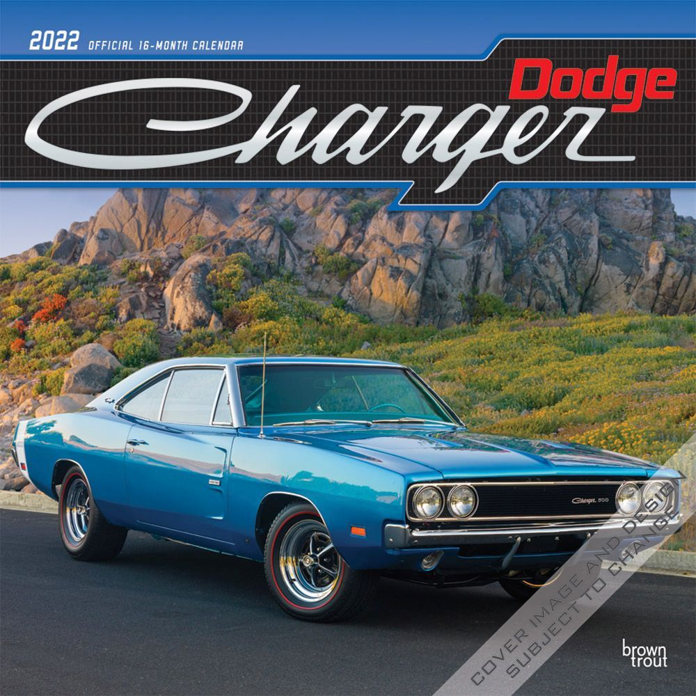 Dodge Charger 2022 Wall Calendar
