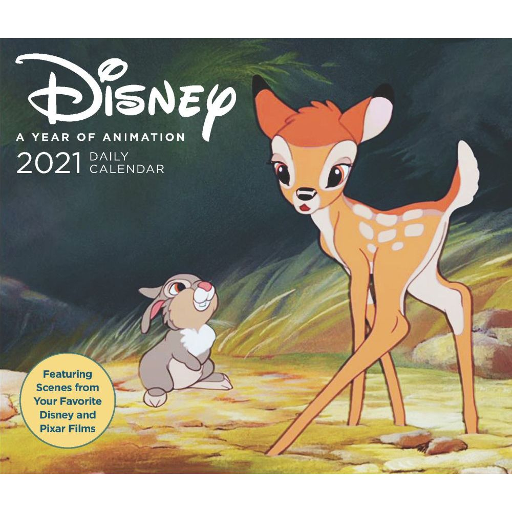 Disney Year of Animation 2021 Desk Calendar