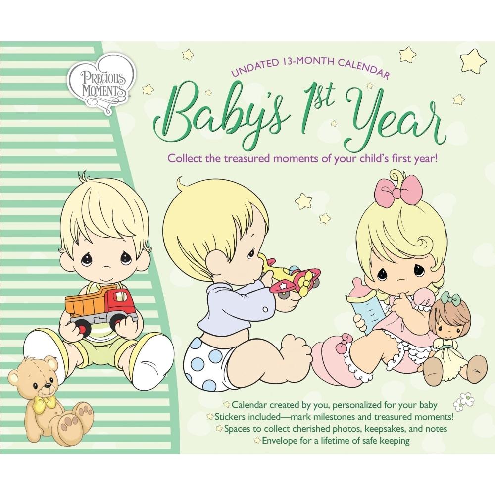 2021 Babys 1st Yr Precious Moments Wall Calendar