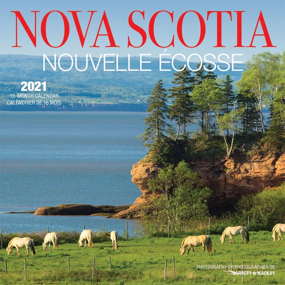 2021 Nova Scotia Mini Wall Calendar
