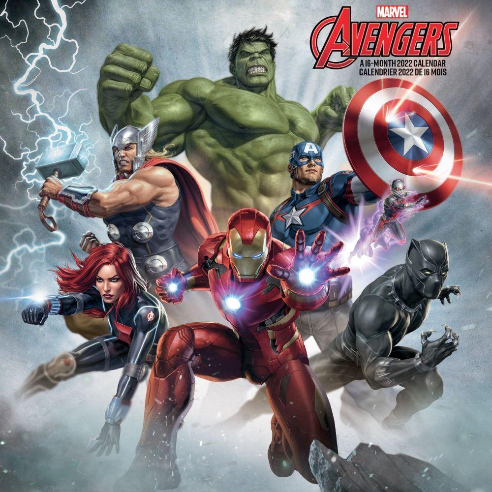 Avengers Gameverse 2022 Mini Wall Calendar