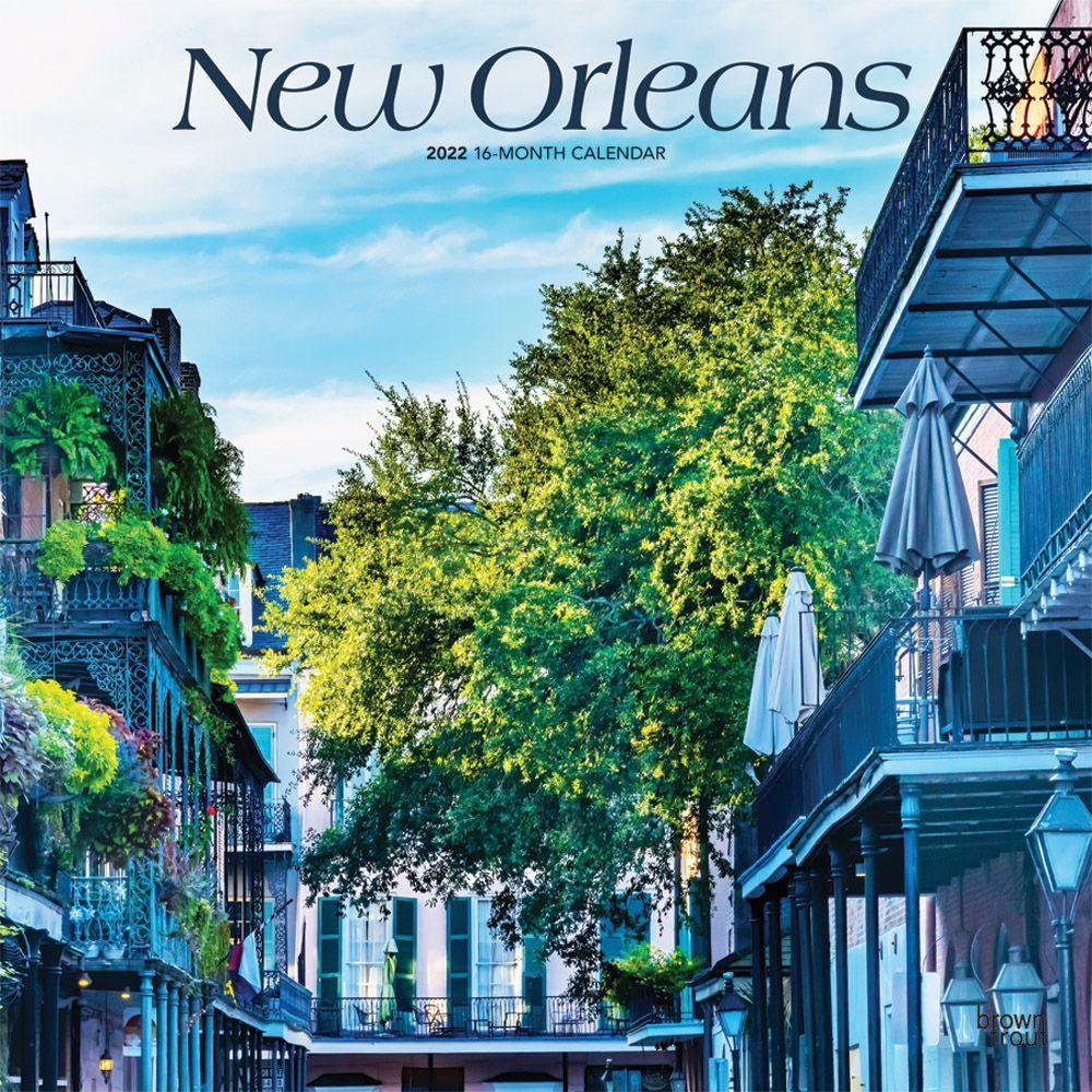 New Orleans Calendar 2022.New Orleans 2022 Wall Calendar Calendars Com