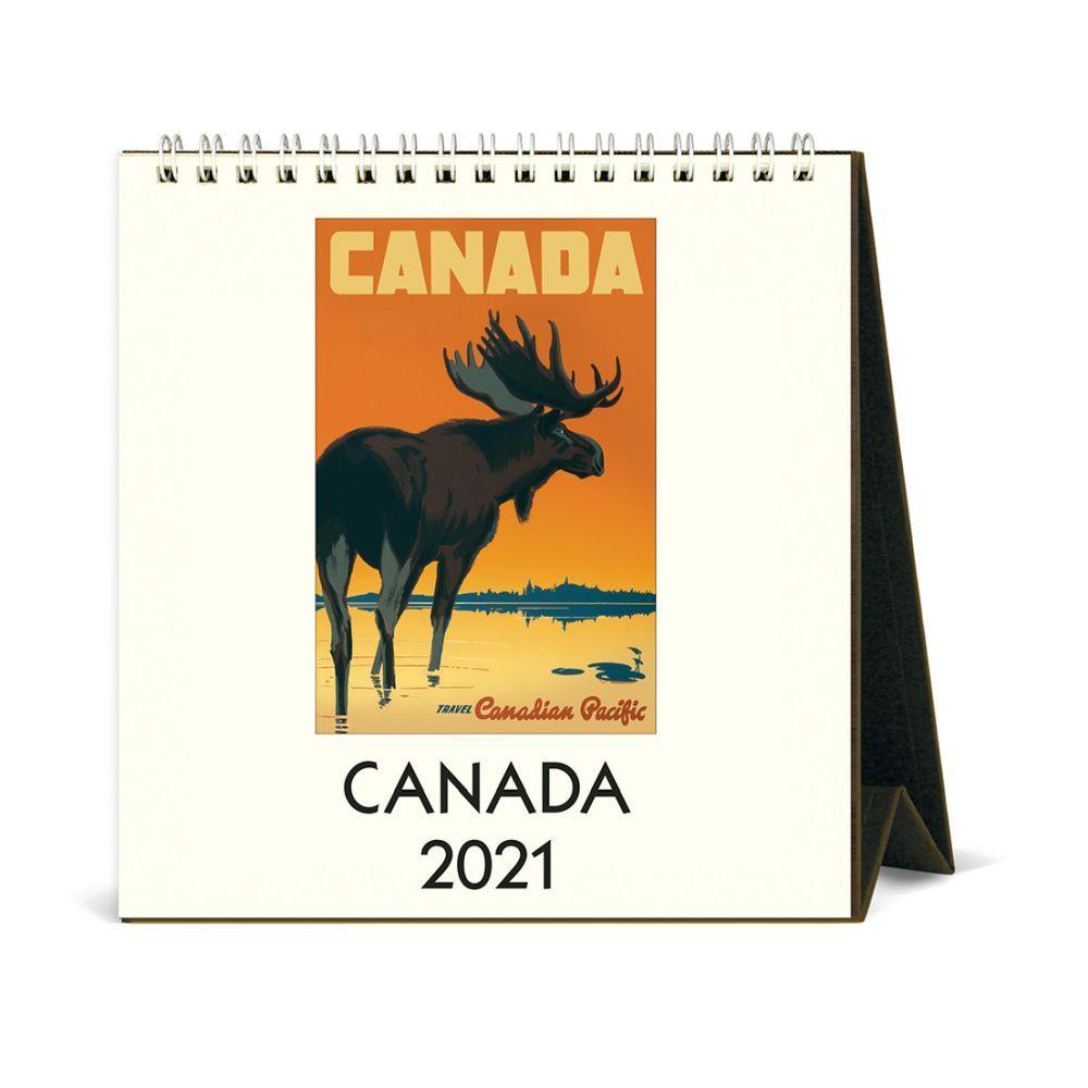 2021 Canada Easel Calendar