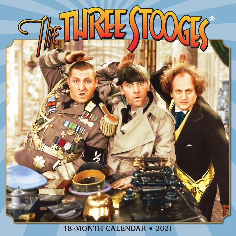 2021 Three Stooges Wall Calendar