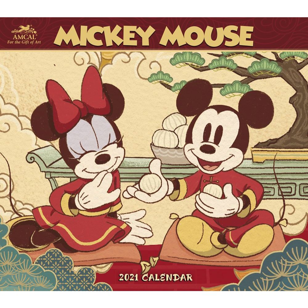 Mickey Mouse Classic 2021 Wall Calendar