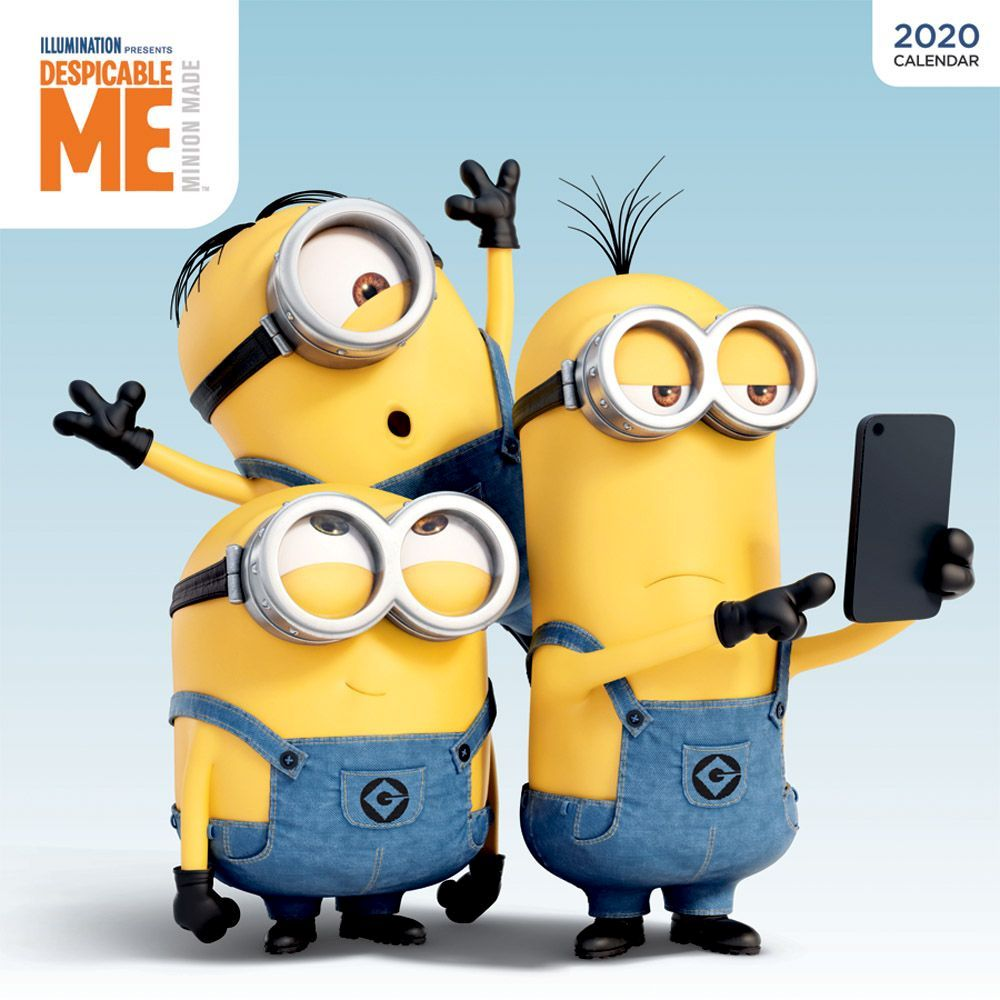 Images of Minion Calendar 2021