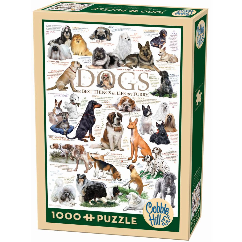 Best Dog Quotes 1000 Piece Puzzle You Can Buy