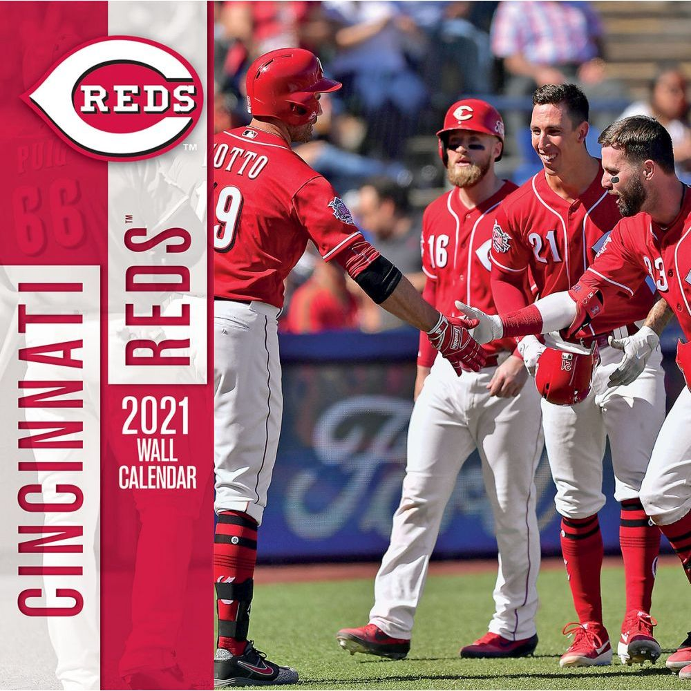 Cincinnati Reds 2021 Wall Calendar