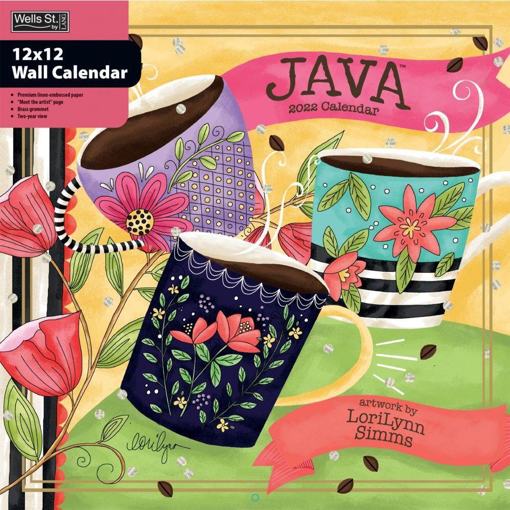 Java 2022 Wall Calendar