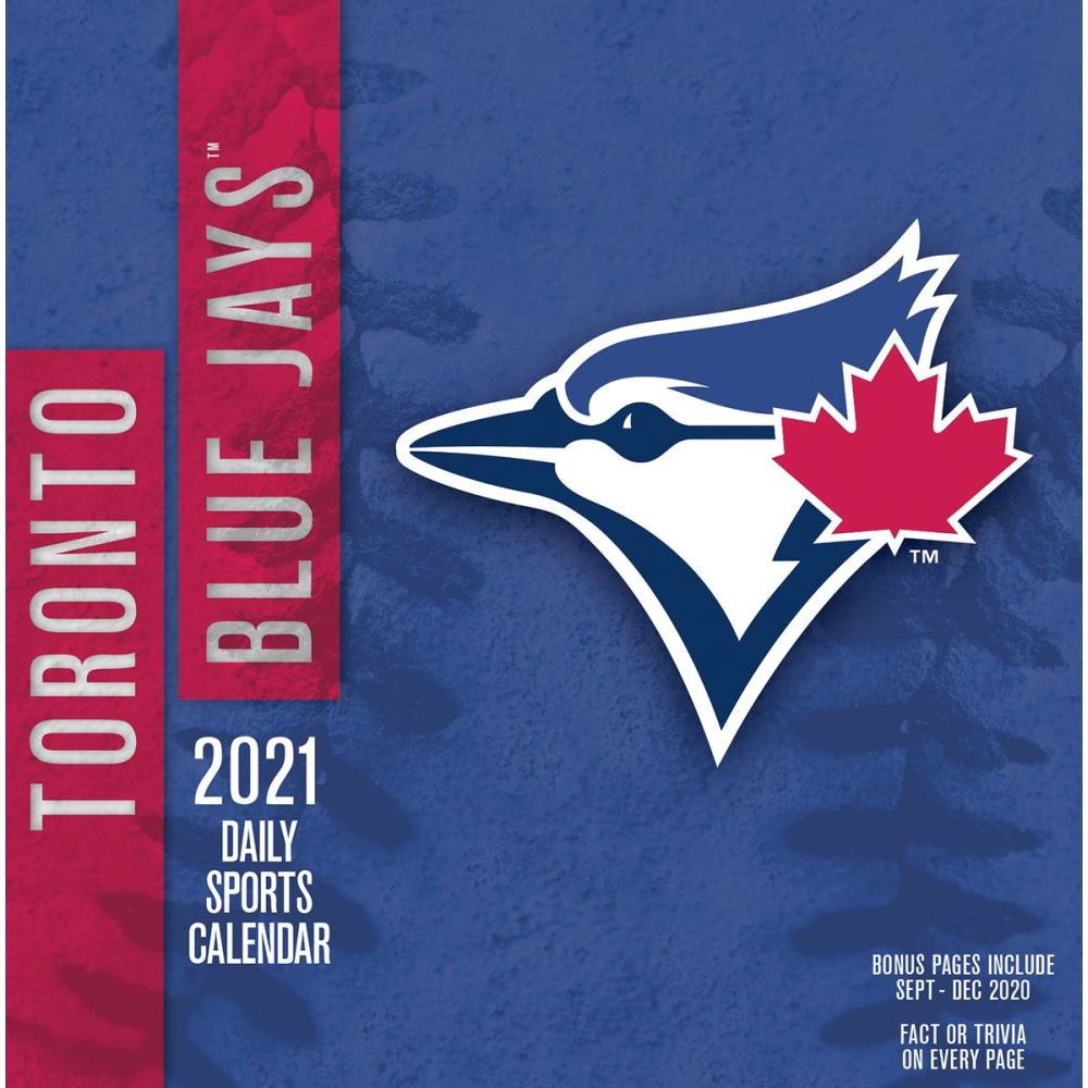 Toronto Blue Jays 2021 Desk Calendar