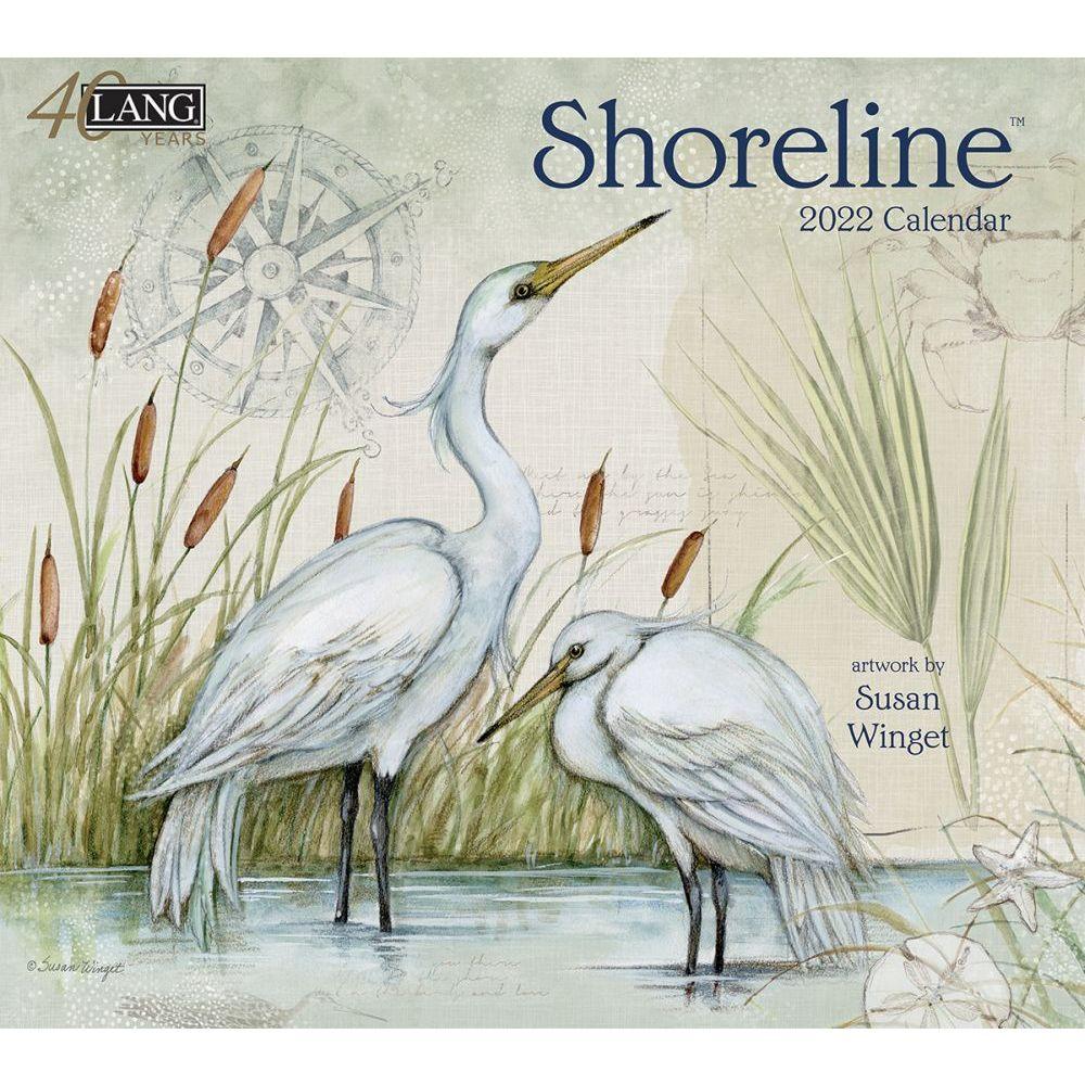Susan Winget Shoreline 2022 Wall Calendar