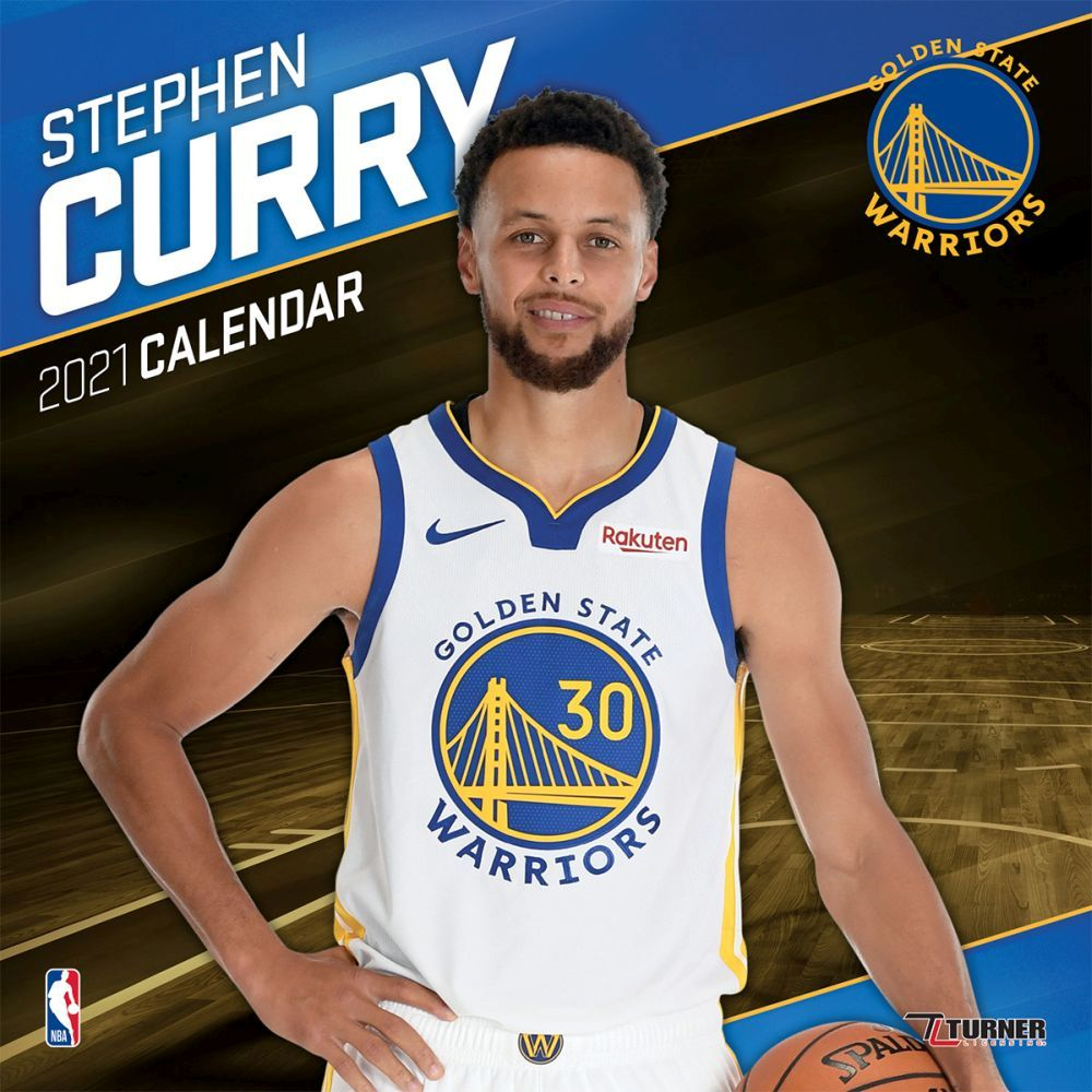 2021 Golden State Warriors Stephen Player Wall Calendar