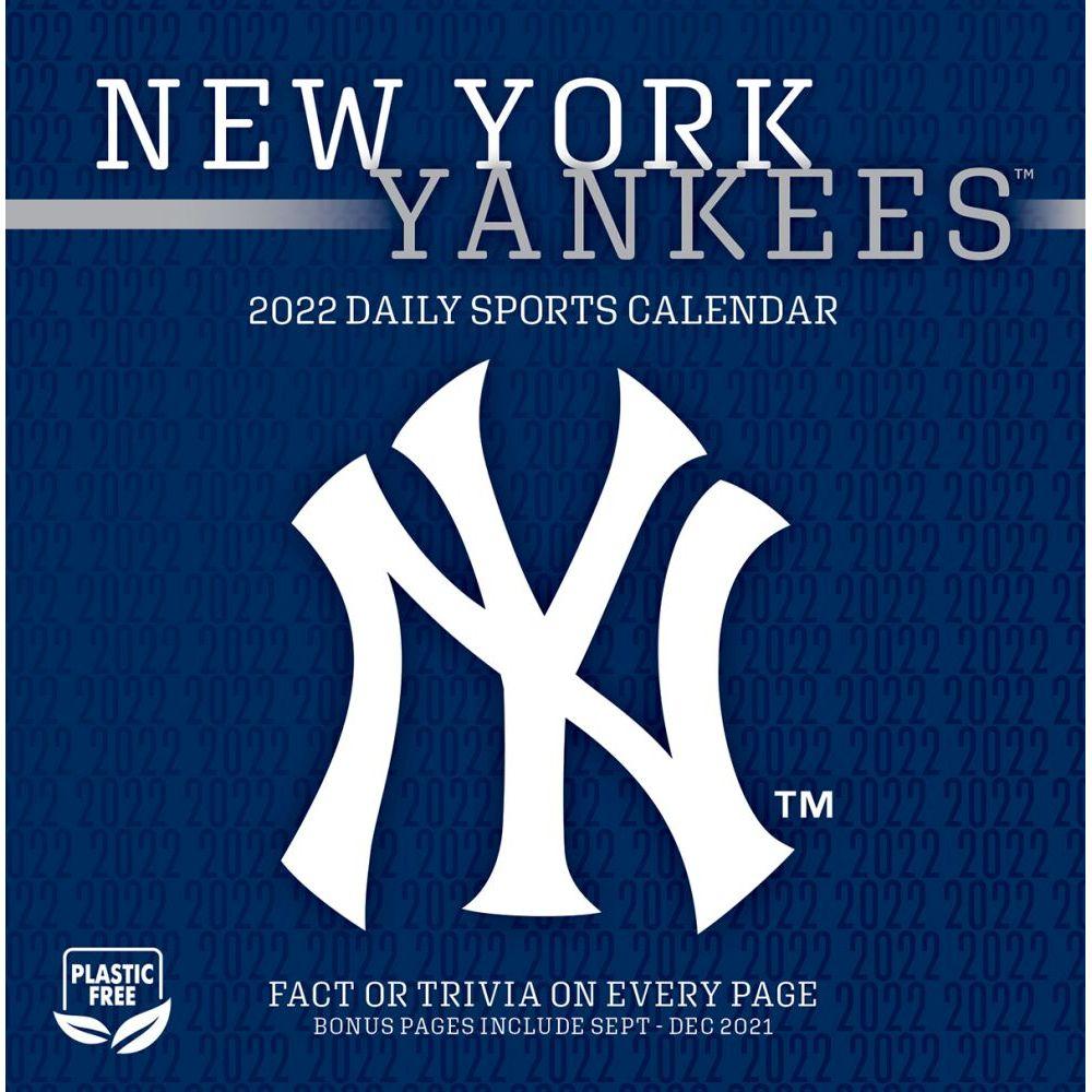 New York Yankees 2022 Desk Calendar