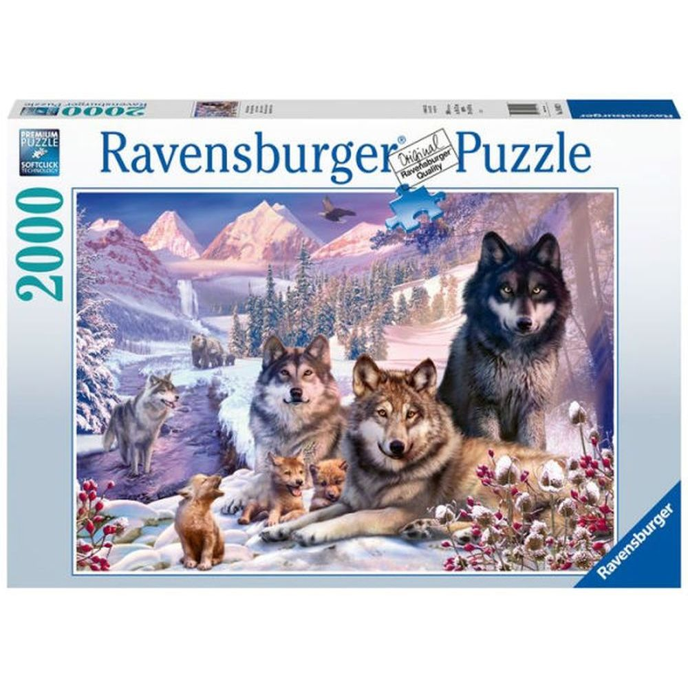Best Wolves 2000pc Puzzle You Can Buy