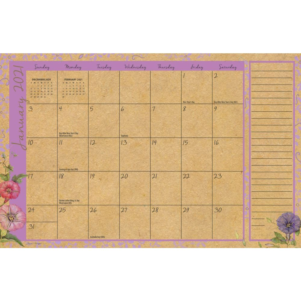 Calendar | Field | Guide | Desk | Pad