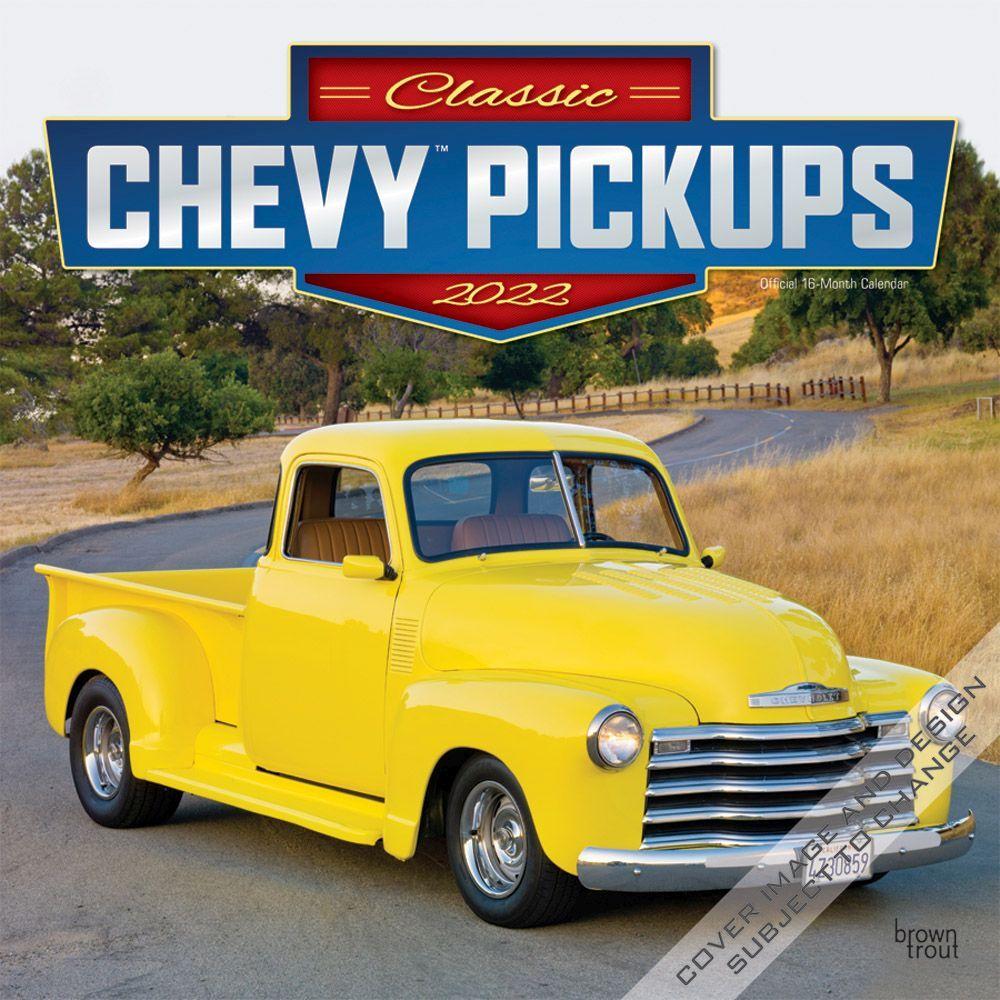 Chevy Classic Pickups 2022 Wall Calendar