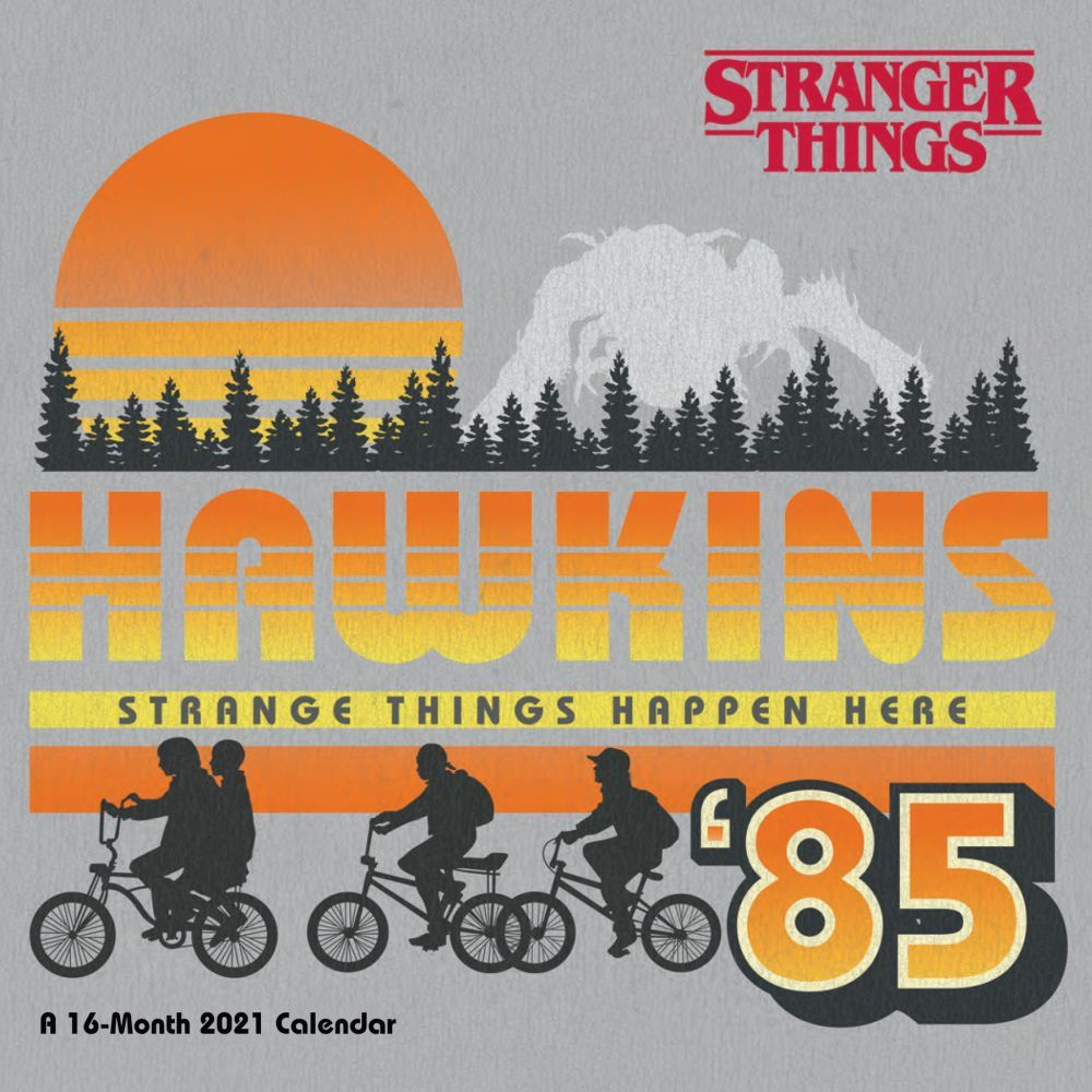 2021 Stranger Things Mini Wall Calendar