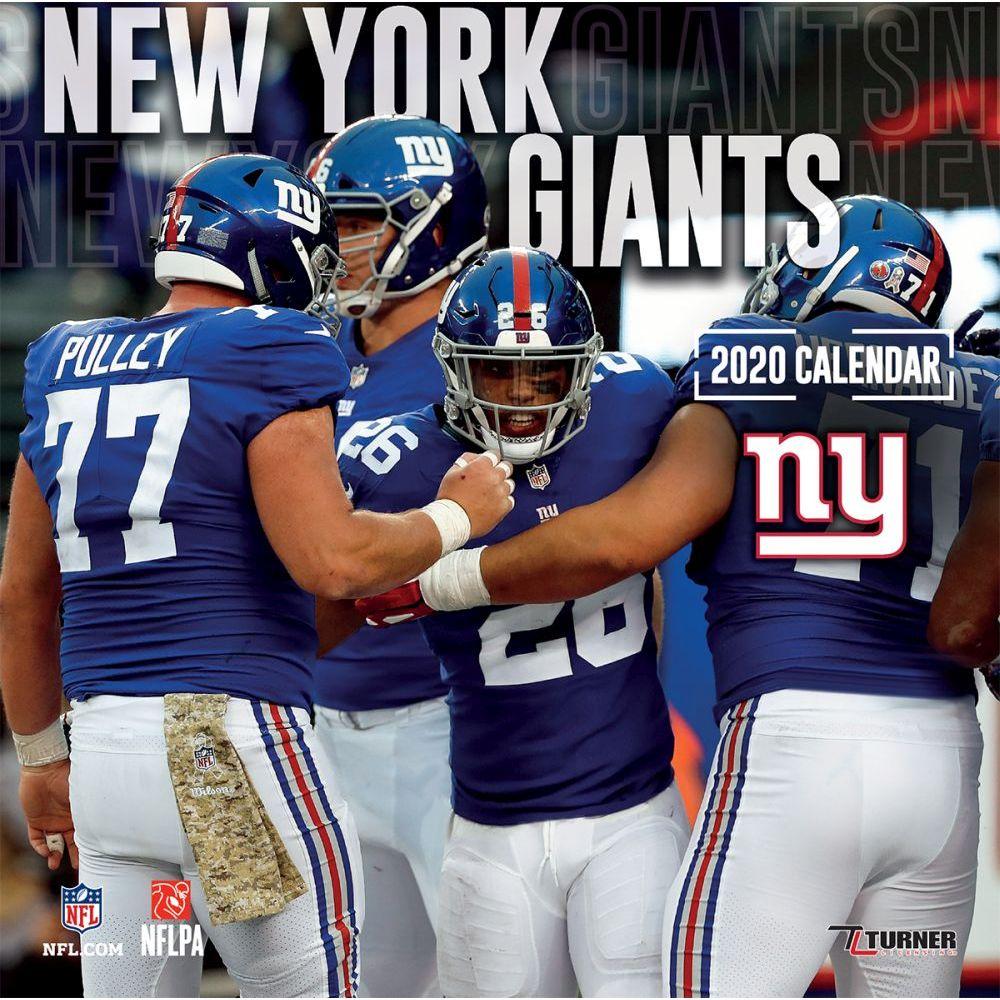 New York Giants 2021 Wall Calendar