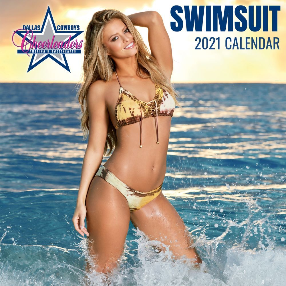 Dallas Cowboys Cheerleaders Lg 2021 Wall Calendar