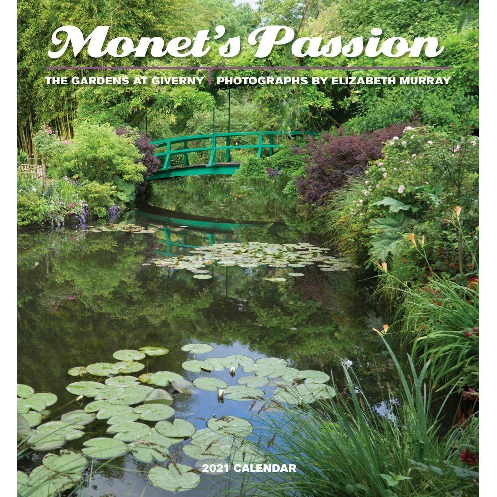 Monet's Passion 2021 Mini Wall Calendar