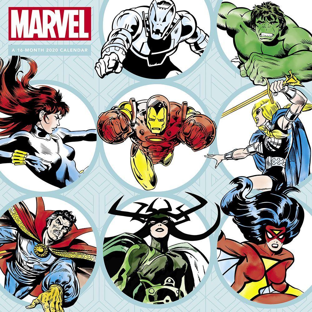 HERoes Marvel Wall Calendar