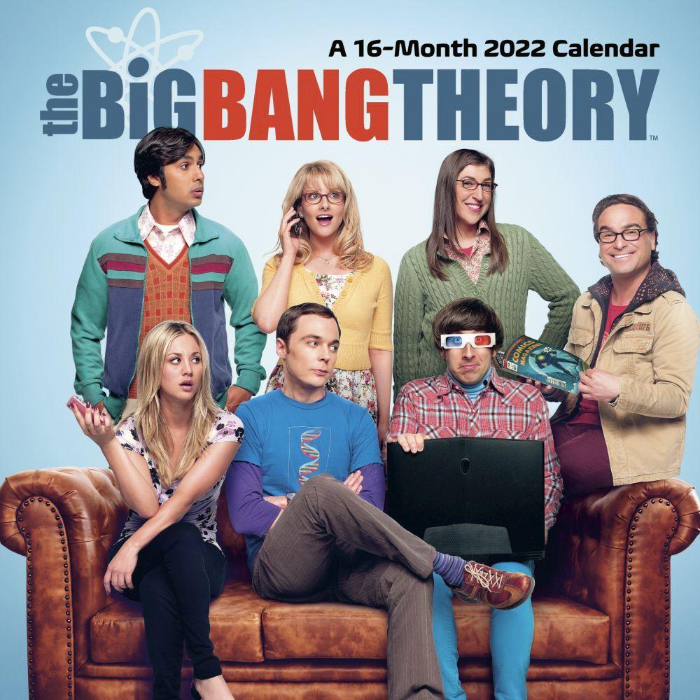 The Big Bang Theory 2022 Desk Calendar
