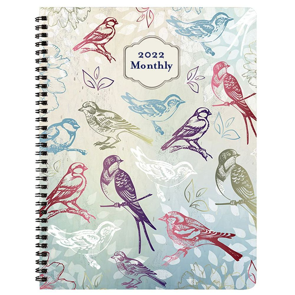 Woodlands 2022 Monthly Appointment Planner