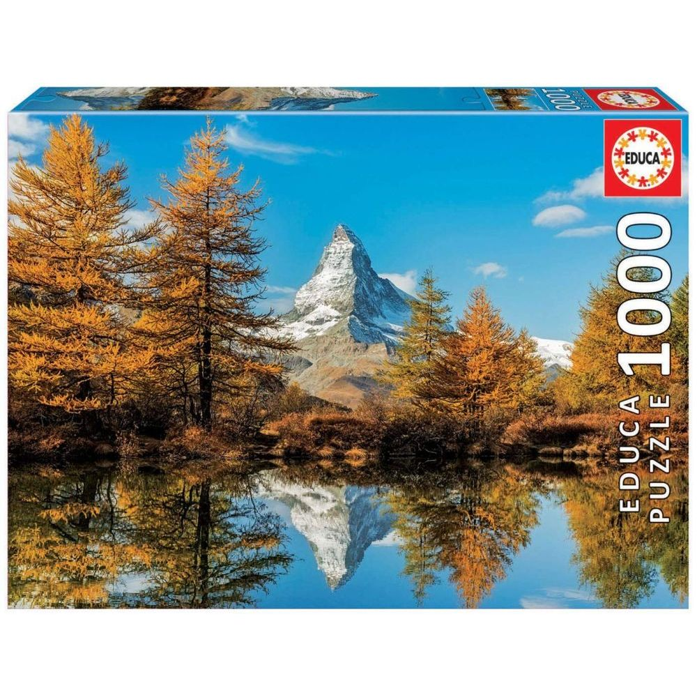 Best Matterhorn Mountain in Autumn 1000pc Puzzle You Can Buy