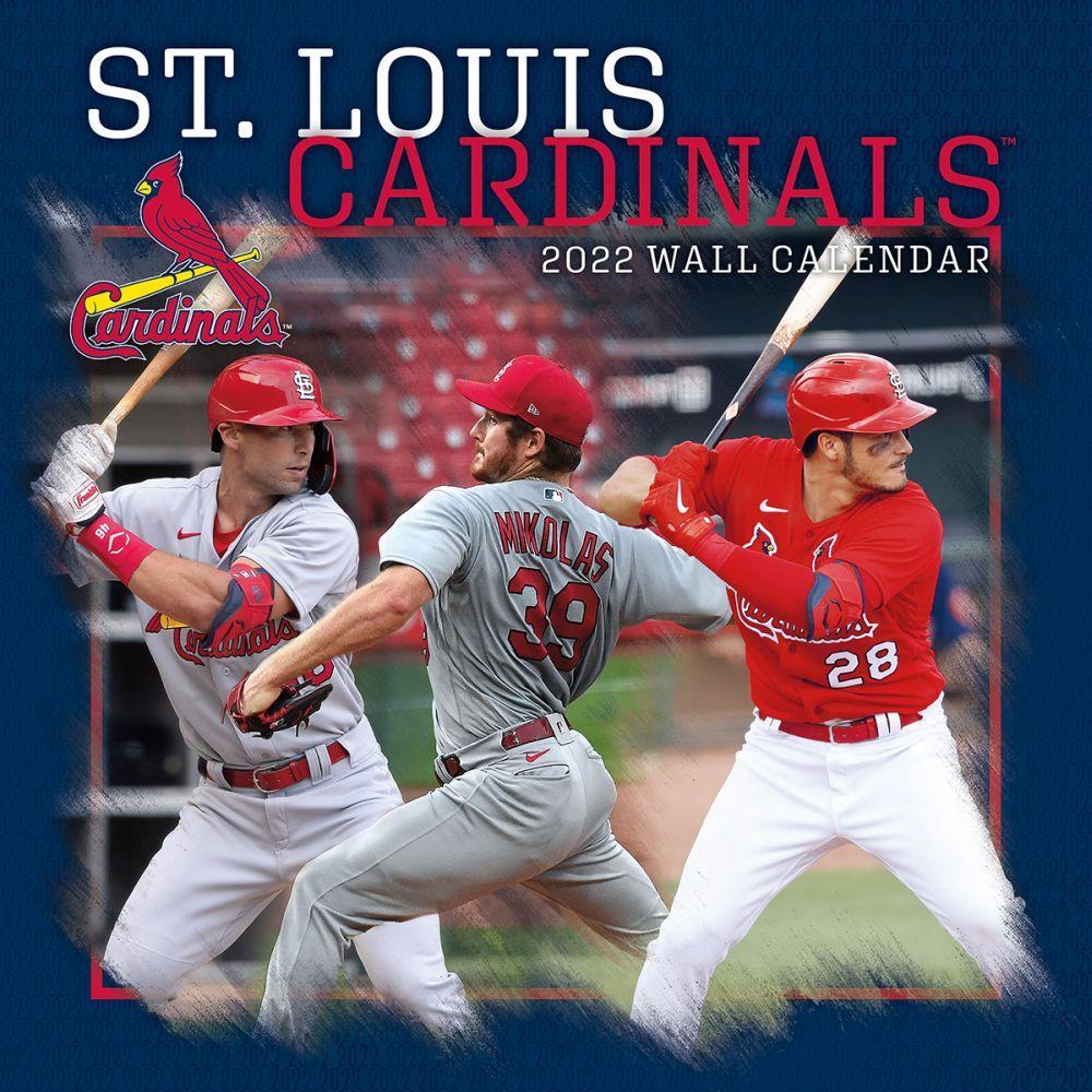 St. Louis Cardinals 2022 Wall Calendar