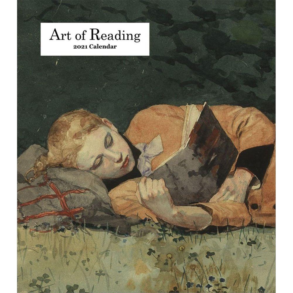 2021 Art of Reading Easel Calendar
