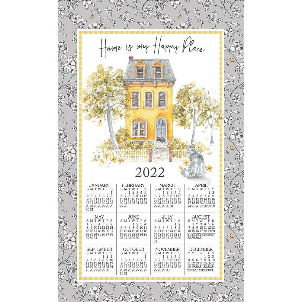 Sweet Home 2022 Kitchen Towel Calendar