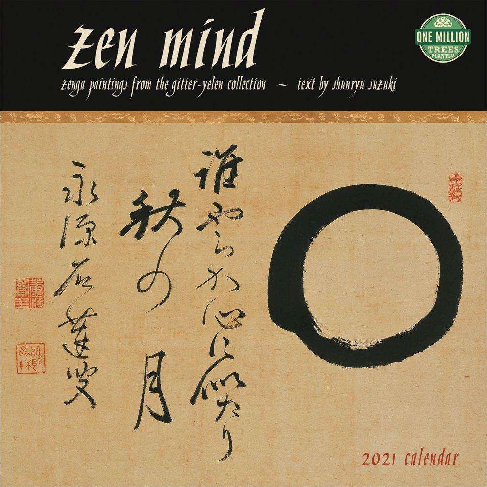 2021 Zen Mind Wall Calendar