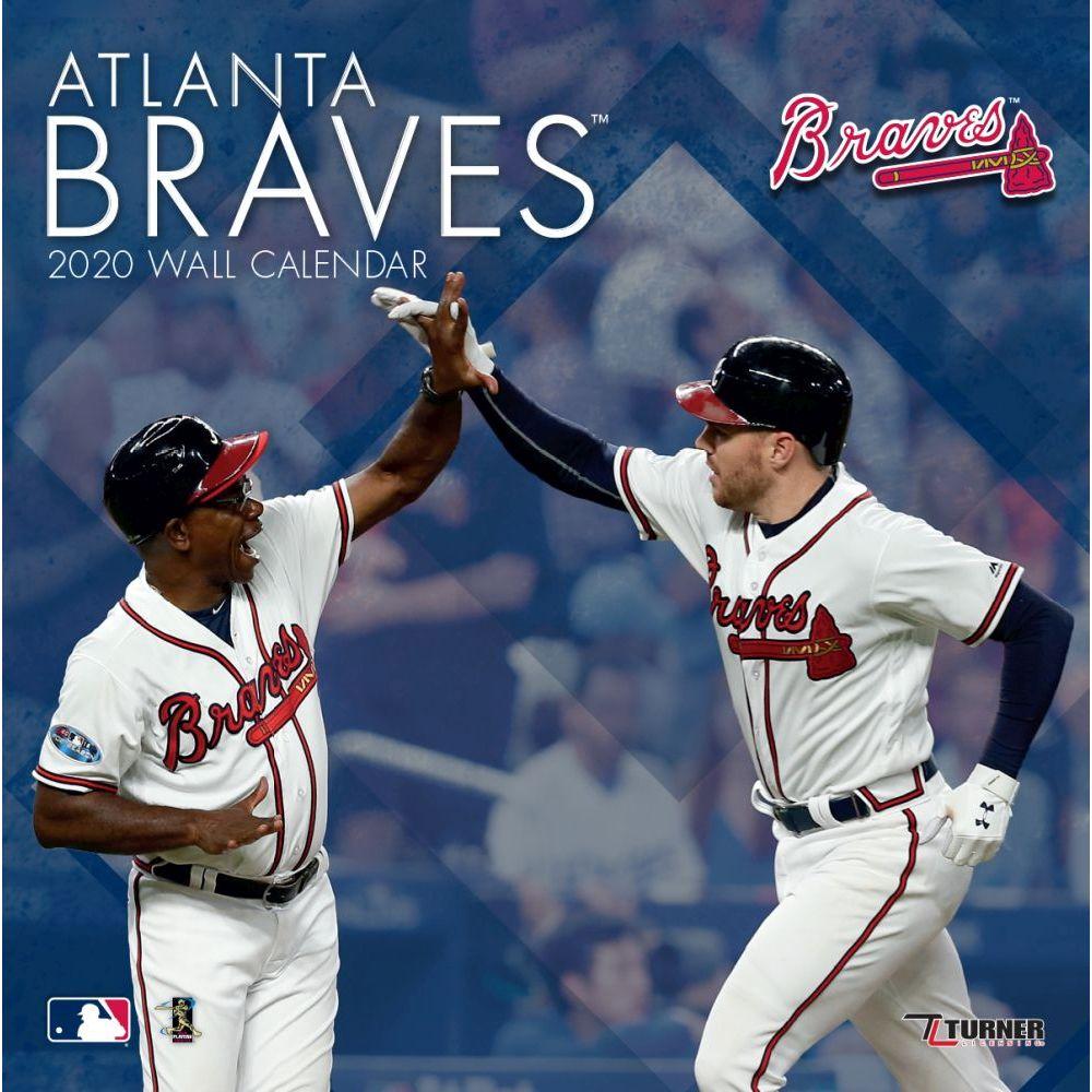 Atlanta Braves 2021 Wall Calendar