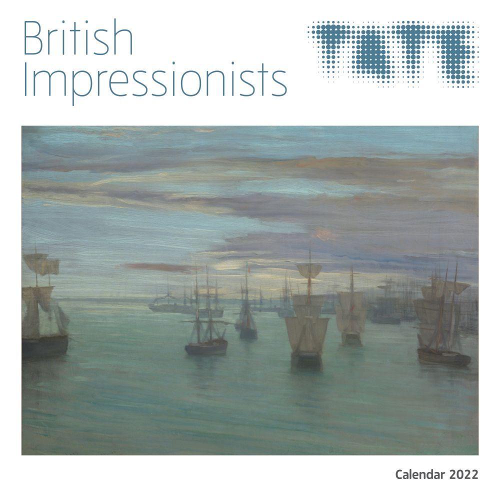 Tate British Impressionists 2022 Wall Calendar