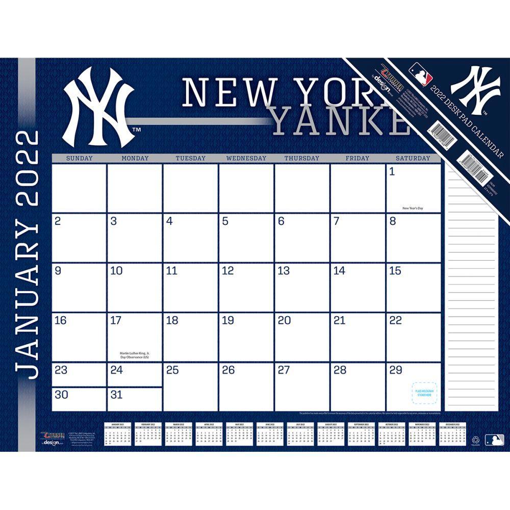 New York Yankees 2022 Desk Pad