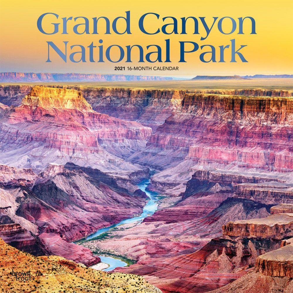 2021 Grand Canyon Natl Park Wall Calendar