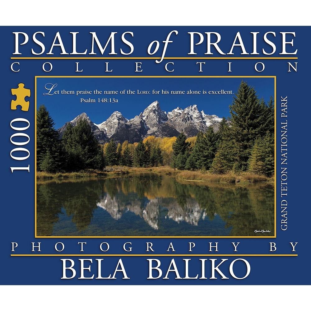 Best Psalms of Praise III Grand Tetons 1000 Piece Puzzle You Can Buy