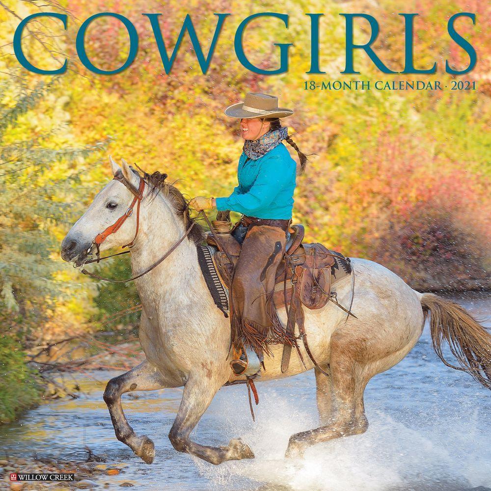 Cowgirls 2021 Wall Calendar