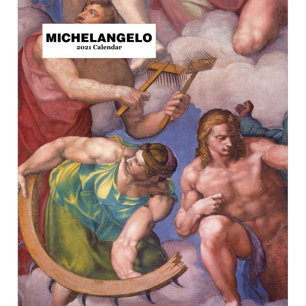 Michelangelo 2021 Easel  Calendar