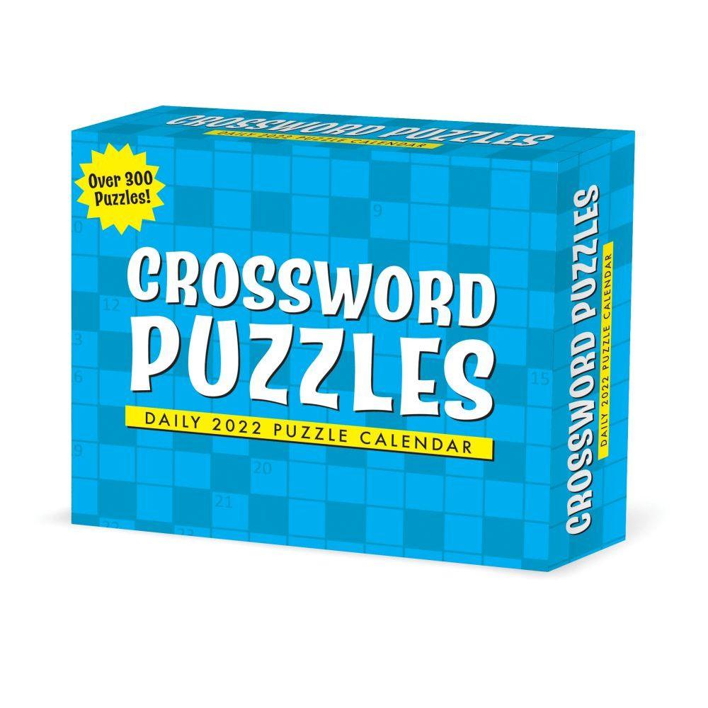 Crossword Puzzles 2022 Desk Calendar