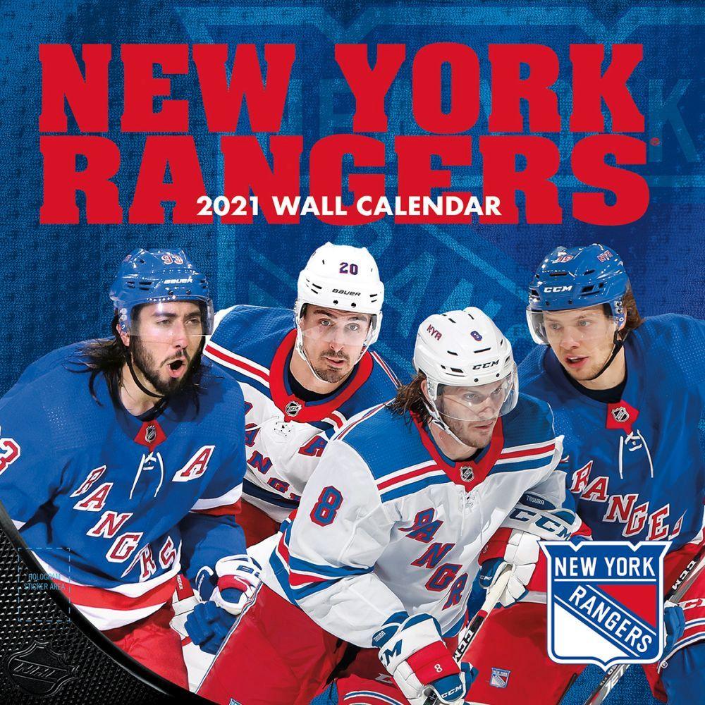 New York Rangers 2021 Wall Calendar