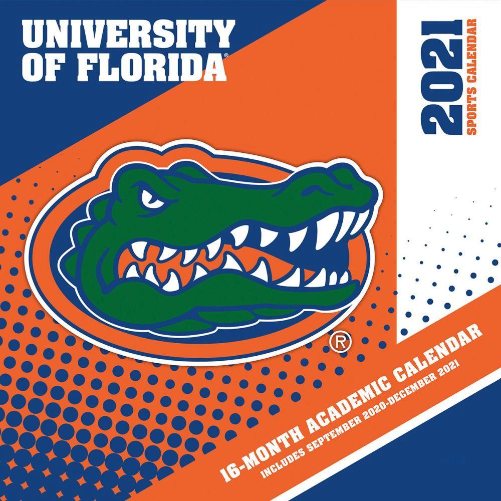 2021 COL Florida Gators Mini Wall Calendar